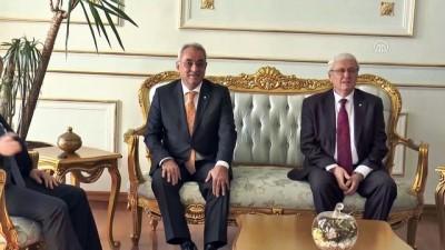 DSP Genel Başkanı Aksakal, Vali Ceylan'ı ziyaret etti - TEKİRDAĞ