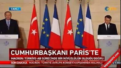Erdoğan'dan Fransız gazeteciye tarafsızlık dersi