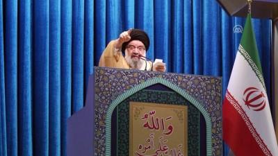 İran'da cuma namazı sonrası ABD yönetimi kınandı - TAHRAN