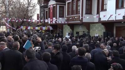 maneviyat - Mehmet Akif İnan Vakfı hizmet binasının açılışı - BBP Genel Başkanı Mustafa Destici - ANKARA