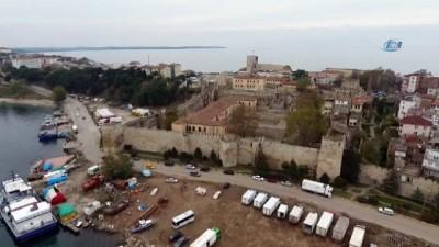 Tarihi Sinop Cezaevi 250 bin ziyaretçiyi ağırladı... Cezaevi havadan görüntülendi
