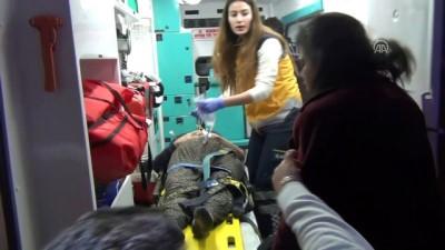 Asansörün halatı koptu: 2 yaralı - ADANA