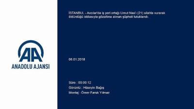 Avcılar'daki cinayetin zanlısı tutuklandı - İSTANBUL