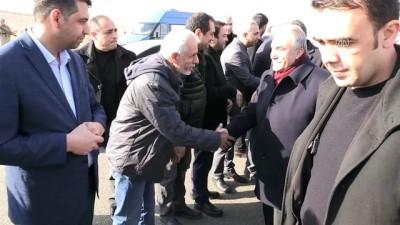 kalp krizi - Bakan Fakıbaba Şanlıurfa'da