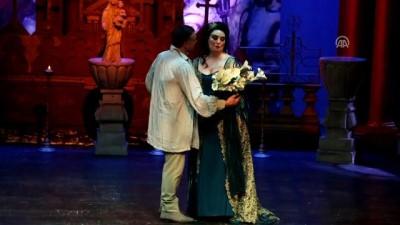 SAMDOB 'Tosca' operasını sahneledi - SAMSUN