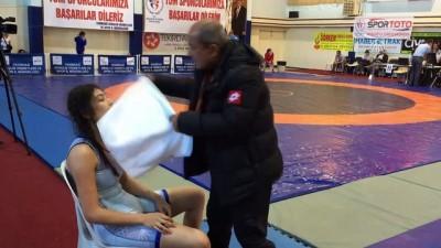 Türkiye Kadınlar Güreş Şampiyonası başladı - TEKİRDAĞ