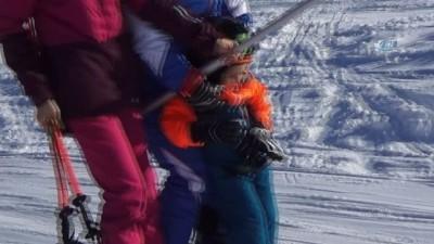 Uludağ'ın en küçük kayakçıları