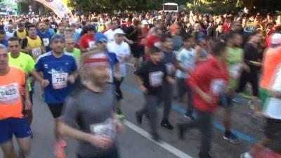 5 Ocak Adana Kurtuluş Yarı Maratonu start aldı