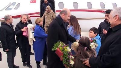 Bakan Soylu, Türkiye-İran sınırında hudut karakolunu ziyaret etti - AĞRI