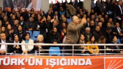 CHP kongresinde oy kavgası