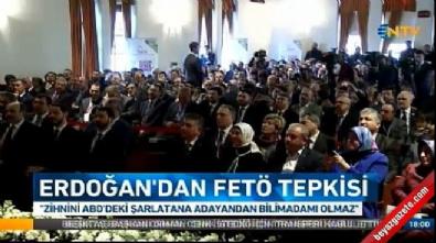 Cumhurbaşkanı Erdoğan, Boğaziçi Üniversitesi'nden konuştu
