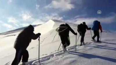 Dağcılardan zorlu zirve tırmanışı - HAKKARİ