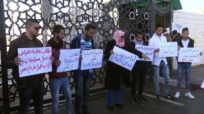 Gazze'de Refah Sınır Kapısı'nın açılması için gösteri - REFAH