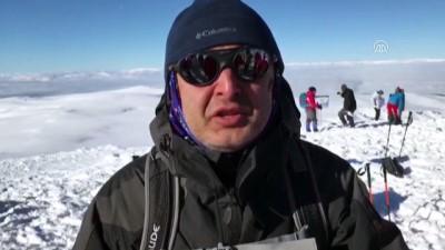 Sarıkamış şehitleri anılıyor - Allahuekber Dağı'na zirve tırmanışı tamamlandı - KARS