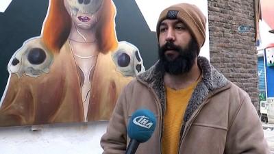 sosyal medya -  Şehri grilikten kurtarmanın yolu sokaklarını boyamak