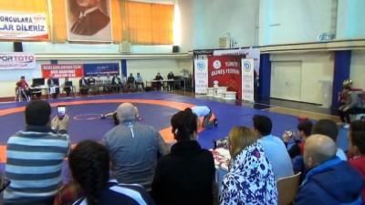 Türkiye Kadınlar Güreş Şampiyonası sona erdi