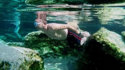 ANADOLU'NUN TERMAL ZENGİNLİKLERİ - 'Beyaz cennet'in antik havuzunda kaplıca keyfi (1) - DENİZLİ