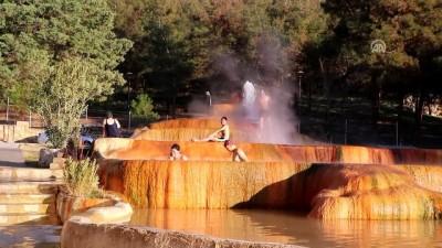 ANADOLU'NUN TERMAL ZENGİNLİKLERİ - 'Beyaz cennet'in antik havuzunda kaplıca keyfi (2) - DENİZLİ