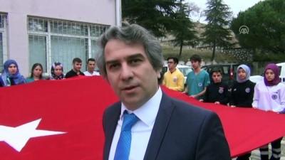 Anıtkabir'de dalgalanan Türk bayrağı Suluova'da - AMASYA