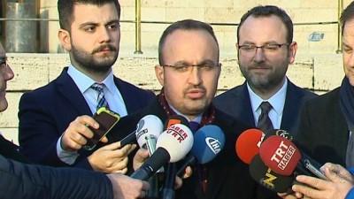 """Bülent Turan, """"Baçeli'nin bu konudaki açıklamasını takdirle karşılıyoruz. Partimizin yetkili kurulları toplanacaktır, nihai karar verilecektir'"""