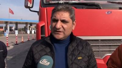 CHP'li vekiller tırla Ankara'ya gidiyor