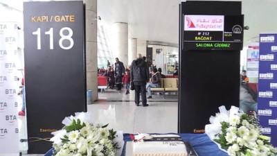 destina - Fly Bağdat Hava Yollarının Ankara-Bağdat uçuşları başladı - ANKARA