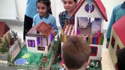 İlkokul öğrencileri 'müstakil' hayallerini makete döktü - BURSA