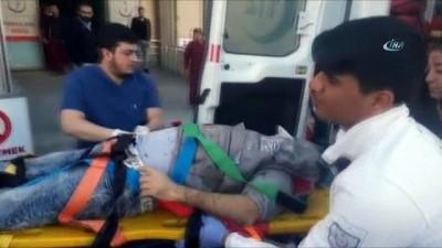 İnşaat işçileri 8'inci kattan yere çakıldı: 1 ölü, 1 yaralı