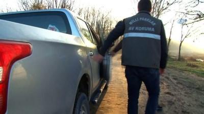Kaçak avcılara yönelik denetimler sıklaştırıldı