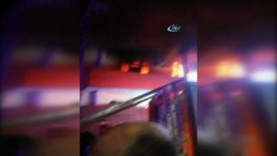 Korkutan yangın, 3 kadın yanmaktan son anda kurtarıldı