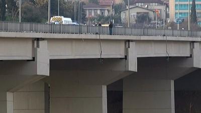 Ortaköy Viyadüğü'nde intihar girişimi