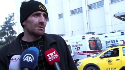 askeri helikopter - Uludağ'da mahsur kalanlar kurtarıldı (3) -Kurtarılan Karal ile röportaj- BURSA