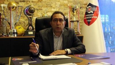 Ünsal: 'Kardemir Karabükspor çok daha iyi bir şekilde ikinci yarıyı tamamlayacak' - KARABÜK