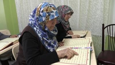 60 yaşından sonra Kur'an-ı Kerim okumayı öğrendiler - ADIYAMAN