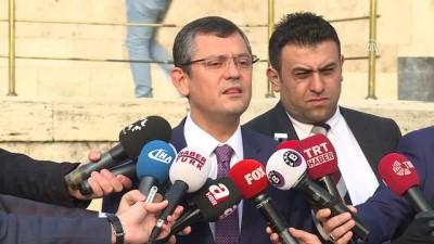 CHP Grup Başkanvekili Özel: ''(Erdoğan ve Bahçeli görüşmesi) Siyasi tarih, unutulmayacak günler olarak yazacak' - ANKARA