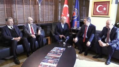 Destici, Türk-İş'i ziyaret etti (1) - ANKARA