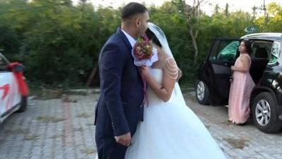 Düğün günü soyulan gelin ve damat şikayetçi olmayıp düğüne gitti