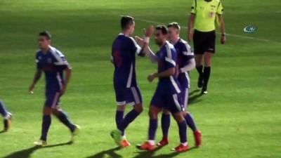 hazirlik maci - Karabükspor, hazırlık maçında berabere kaldı