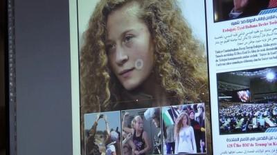 Suriyelilerden 'cesur kız' Ahed'e destek - GAZİANTEP
