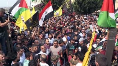 Filistin, işkenceyle şehit edilen gencini uğurladı - RAMALLAH