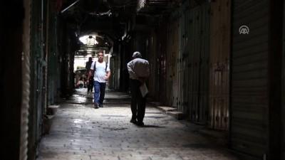 Filistinliler genel grevde - KUDÜS