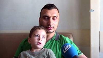 Minik Ahmet Eren yuttuğu pilden kurtuldu, herkes rahat bir nefes aldı