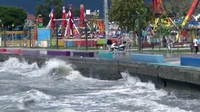 Tropikal fırtına Kuzey Ege'de etkili oluyor