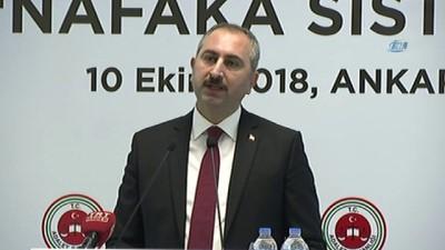 """hassasiyet -  Adalet Bakanı Abdulhamit Gül: """"Bu konu sadece ekonomik bir fayda çıkar ekseninde ele alınamayacak kadar çok boyutludur"""""""