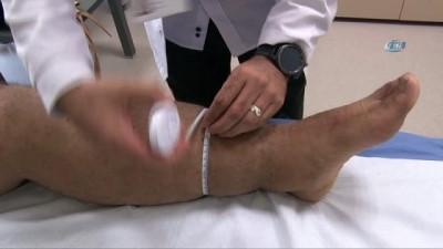 Bir çok hastanede yapılamayan tedavi Kayseri Şehir Hastanesi'nde yapılıyor