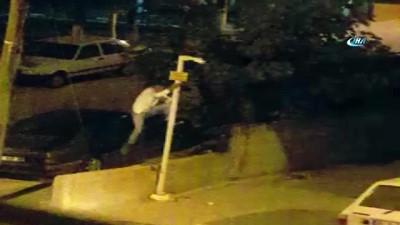 amator -  Direğe tırmanıp güvenlik kamerasını böyle çaldı