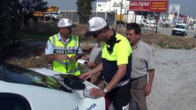 Hatalı sürücüler Drone'a yakalandı