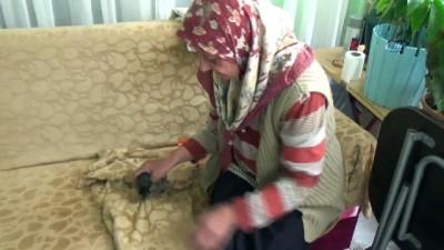yasli kadin -  Hırsızlar yaşlı kadını eve hapsetti