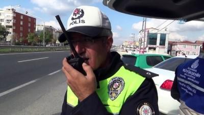 serit ihlali -  Silivri'de kurallara uymayan sürücülere ceza yağdı