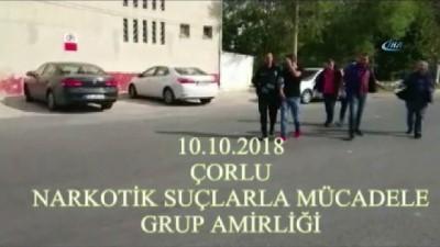 uyusturucu madde -  Çorlu'da narko sokak uygulaması: 18 gözaltı